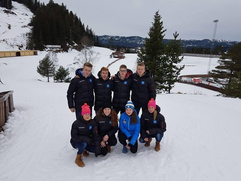 Eesti noorted Põhjakatel 02.2017