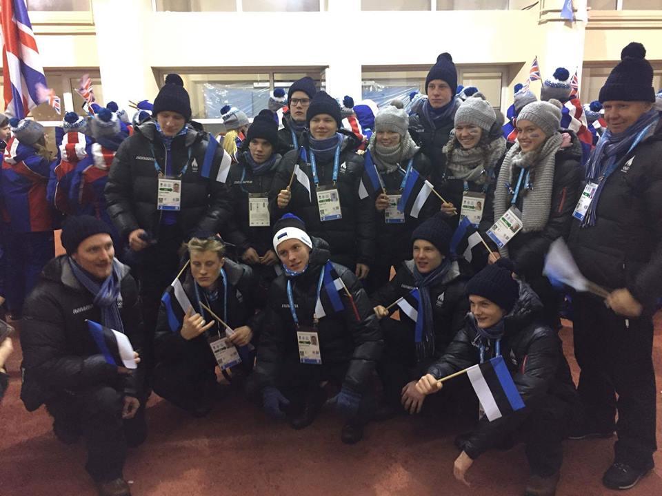 Eesti koondis Euroopa Noorte Olümpiafestivalile