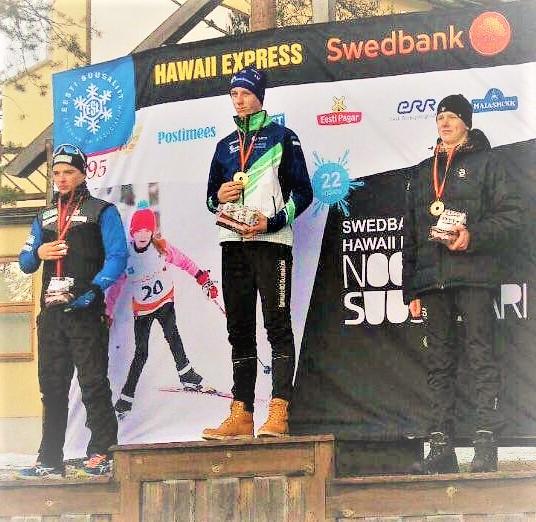 Martini esimene noortesarja võit